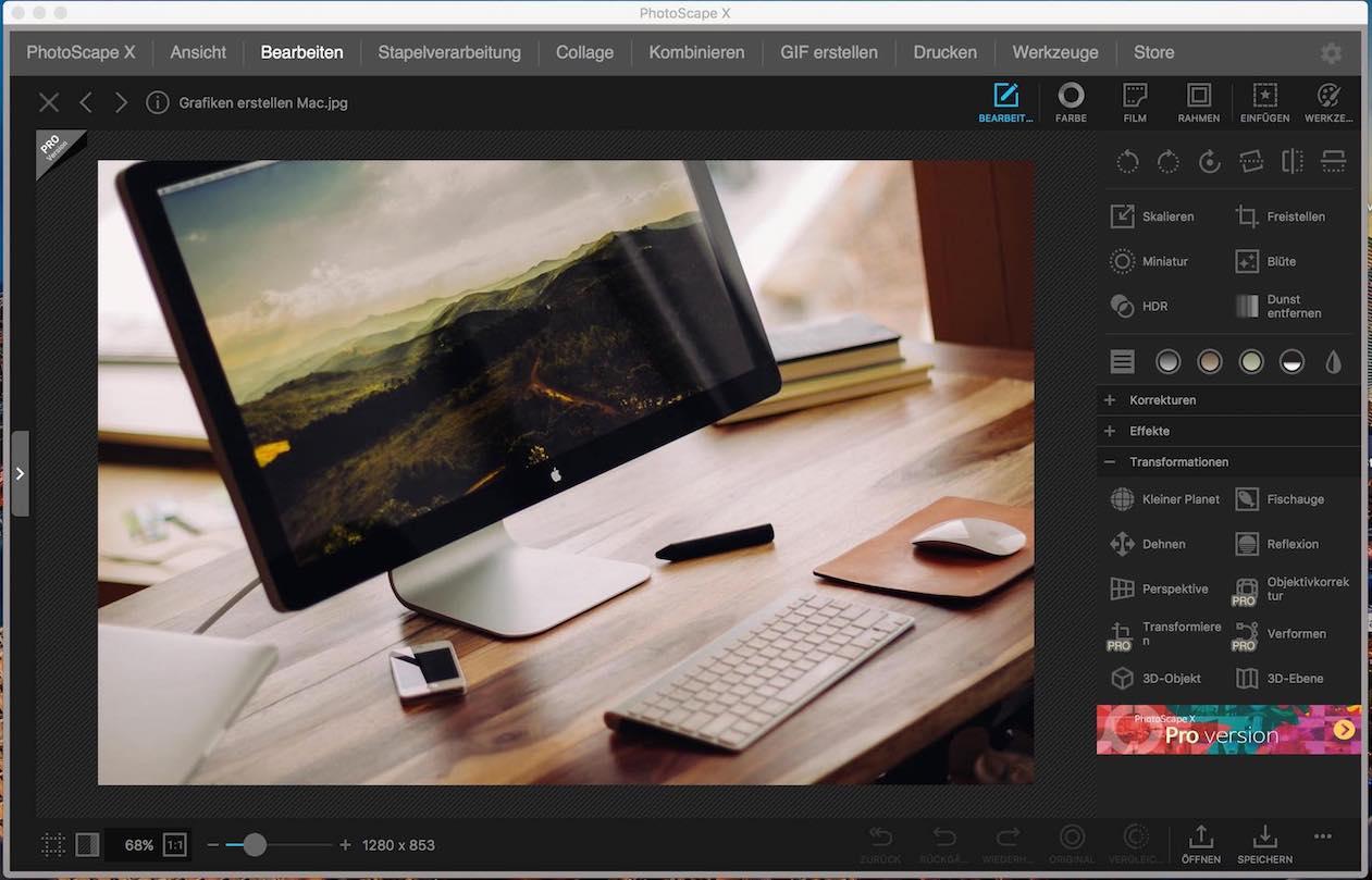 Bildbearbeitung Freeware Mac
