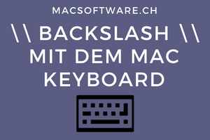 Backslash Mac