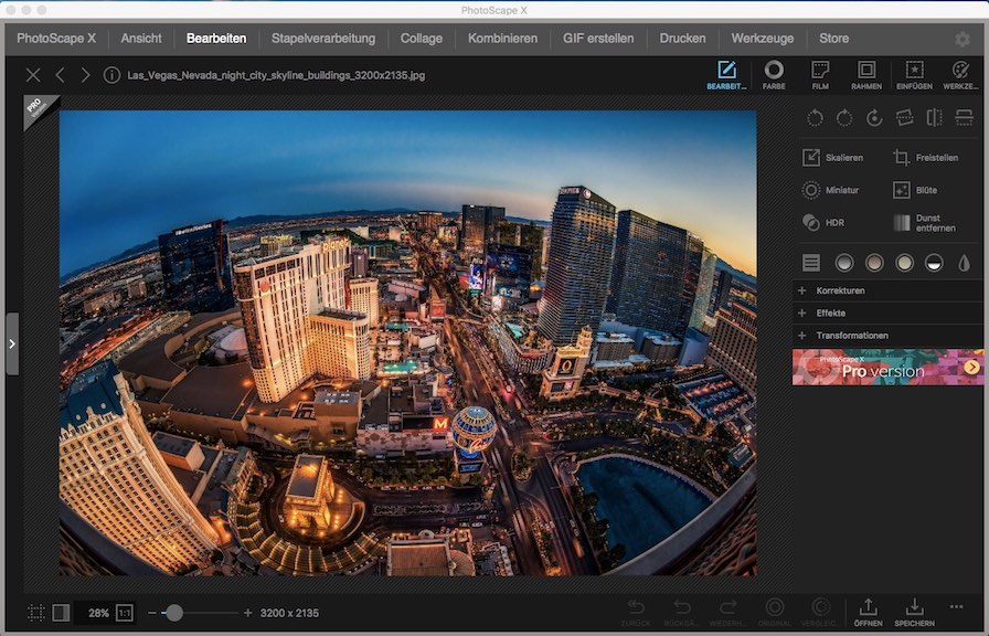 Bildbearbeitung Mac Freeware