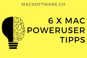 Mac Poweruser Tipps