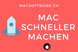 Mac schneller machen