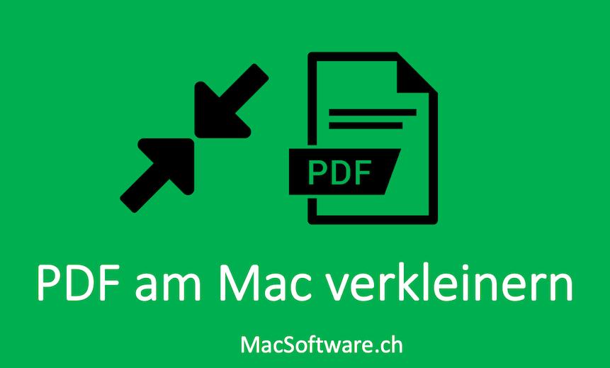 PDF verkleinern am Mac