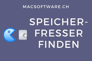 Mac Speicherfresser finden