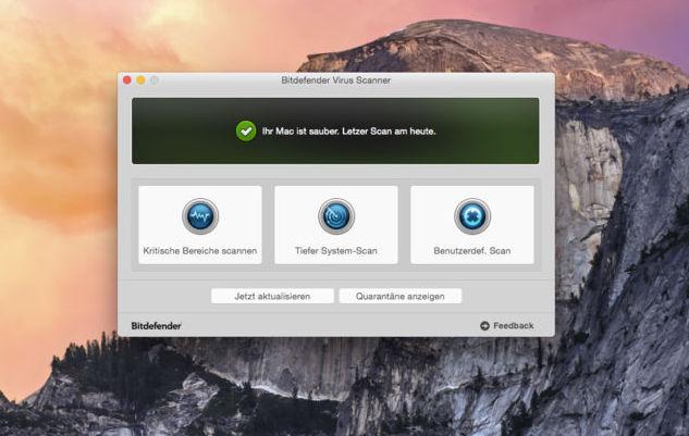 Bitdefender Mac Freeware Anti-Viren-Software