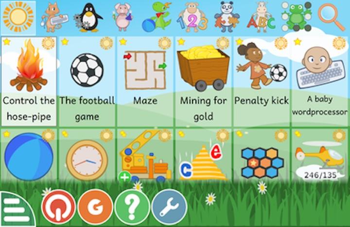 GCompris Mac Lernsoftware für Kinder kostenlos