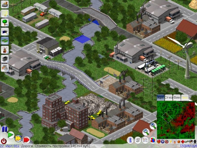 SimCity Klon für Mac