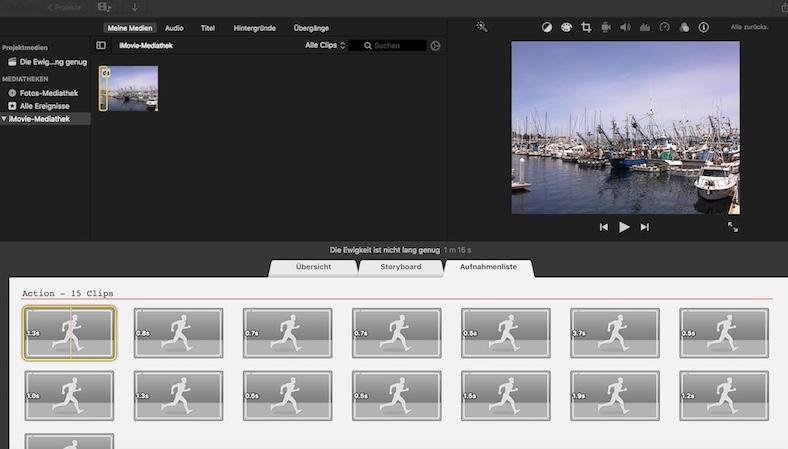 Mac Freeware Videoschnitt iMovie