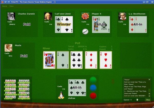 PokerTH kostenlos Poker spielen Mac