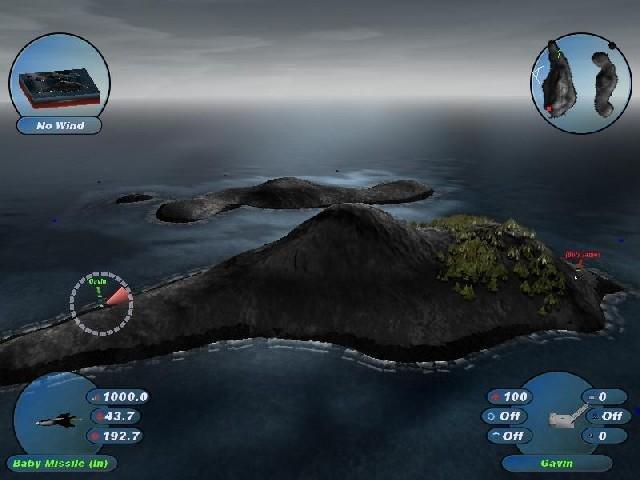 Scorched 3D für Mac kostenloses Action Spiel