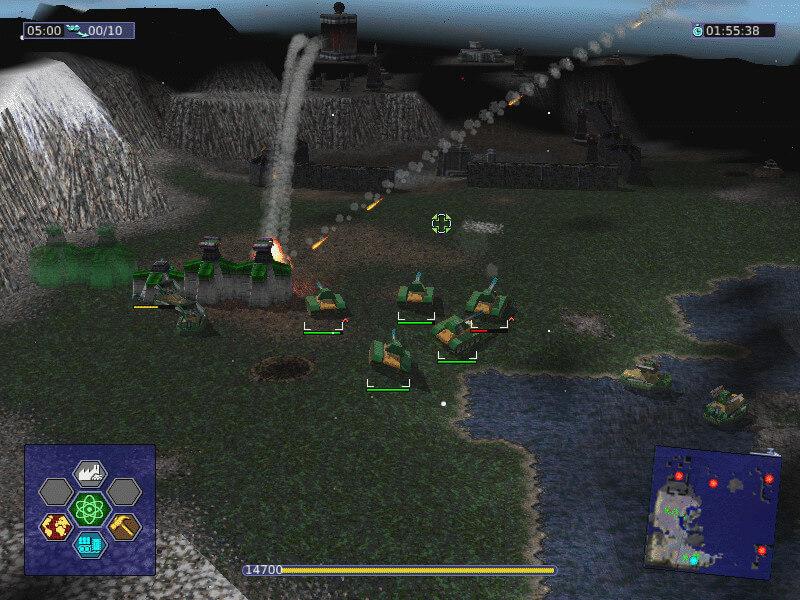 Warzone2100 Mac Spiel