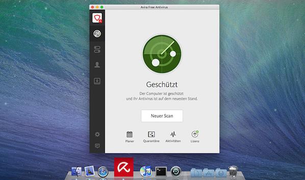 AVIRA antivirus Mac Freeware