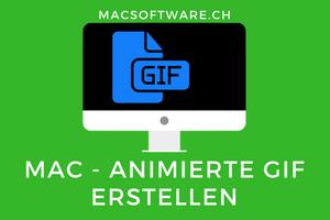 Animierte GIF erstellen Mac