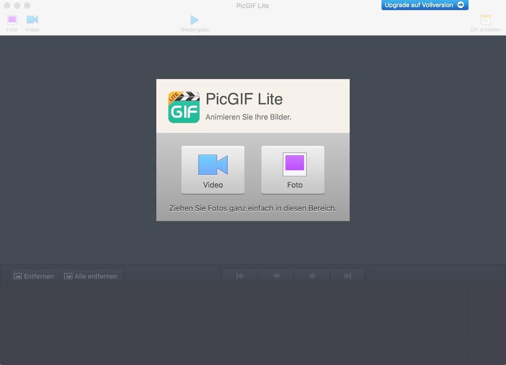 Animierte GIF erstellen - mit PICGif Lite Mac