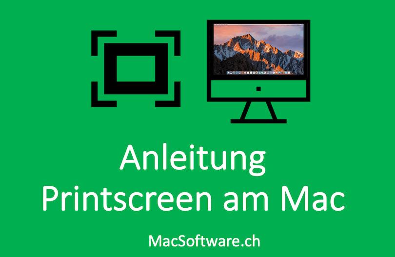 Print Screen Mit Mac Erstellen Anleitung Macsoftwarech