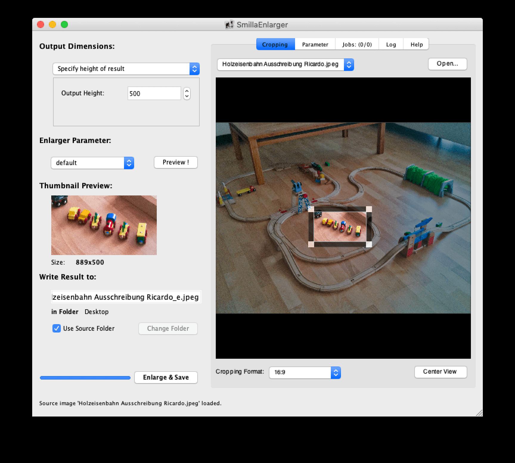 Mac Freeware Bilder Fotos verlustfrei vergrössern.