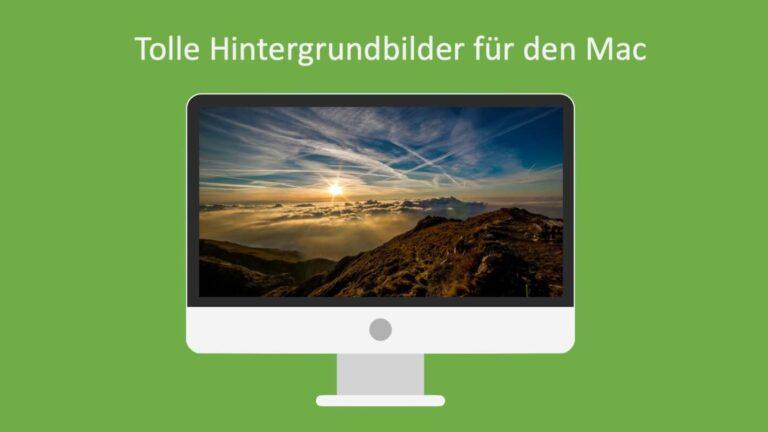 Hintergrundbilder Mac Header
